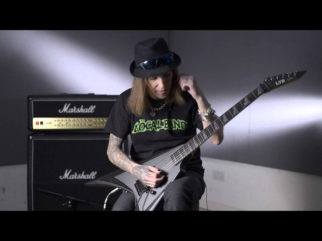 Guitar Lesson Alexi Laiho - Sweep picking warm-ups