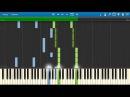 Alekseev - Пьяное солнце НОТЫ MIDI | КАРАОКЕ | PIANOKAFE