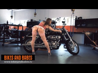 Bikes and Babes TV Sexy Clips 528 Model DENISA HEAVEN TRAILER
