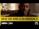Tom Clancy's Rainbow Six Siege Official – Siege Day Idris Elba Announcement [NA]