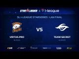 Virtus.pro vs Secret, StarSeries 13 LAN-Final, Day 1