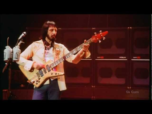 The Who Won't Get Fooled Again John Entwistle's isolated bass live HQ SOUND