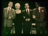 Peggy Lee, Perry Como, Pat Boone, John W. Bubbles together January 25,1958
