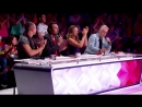 Erza, 8 years old, sings Papaoutai by Stromae - Frances Got Talent 2014 audition - Week 2