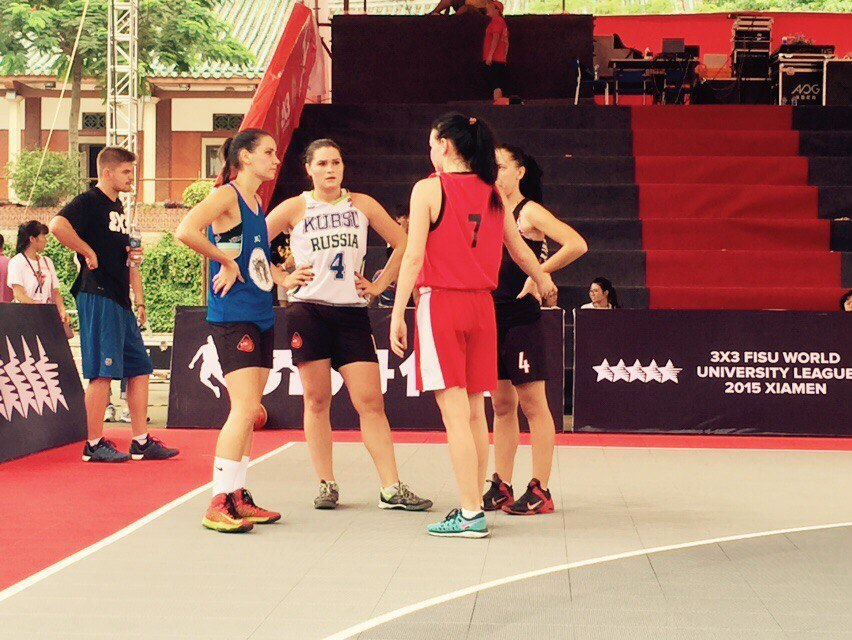 Женская сборная КубГУ по баскетболу 3х3