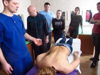 Фрагмент ручного баночного массажа 3