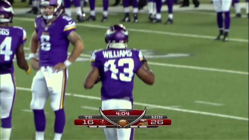 NFL 2015-2016, PreSeason, Week 1, Tampa Bay Buccaneers - Minnesota Vikings, 2 половина, 15.08.2015, Американский футбол, EN
