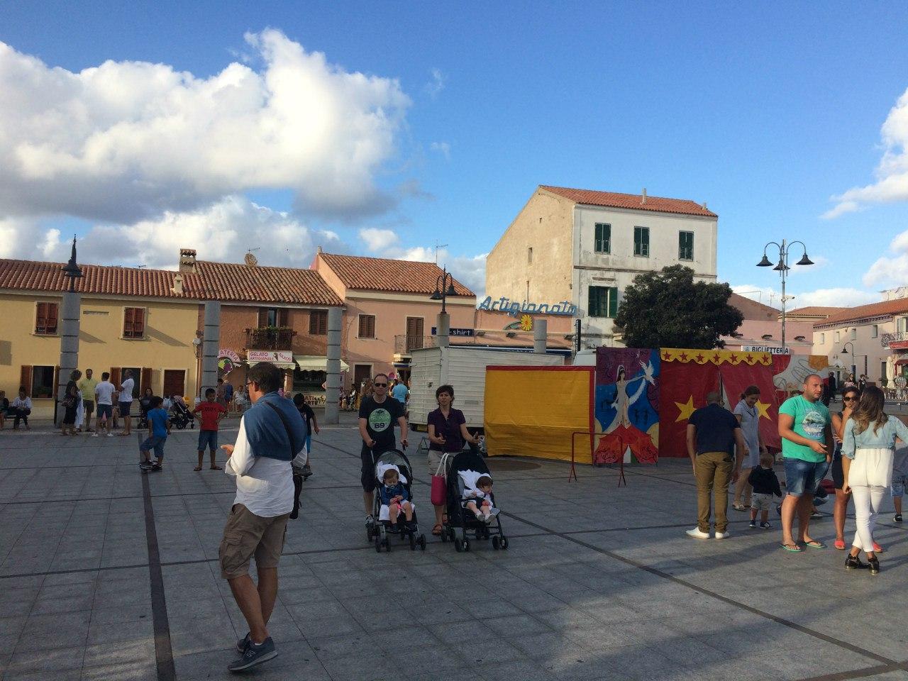Городская площадь Santa Teresa di Gallura