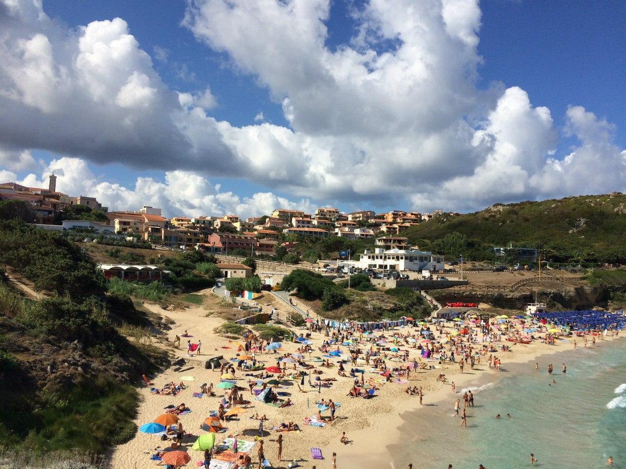 Пляж Rena Bianca - Santa Teresa di Gallura