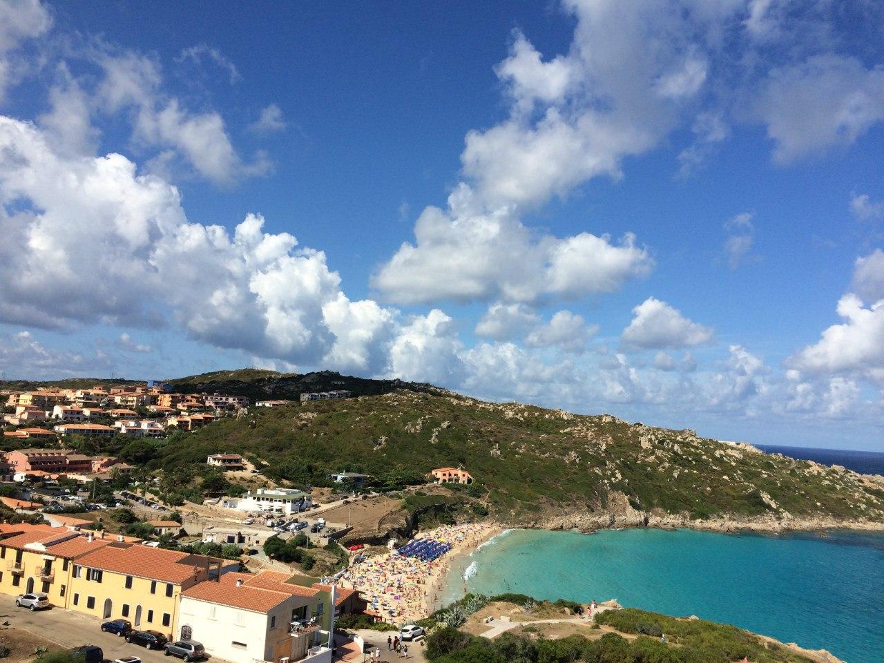 Пляжный отдых на Сардинии