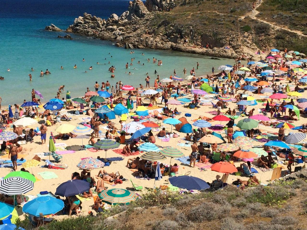 Пляж Санта-Тереза-Ди-Галлура (Сардиния)