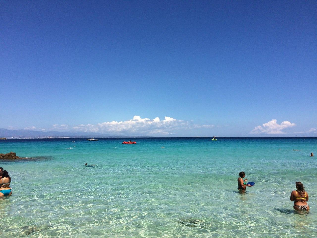 Средиземное море Сардиния