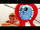 The game Boom Boom Balloon. А fun game for children and adults. Video for kids