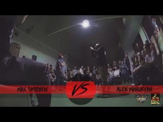 Alen Manukyan Vs Max Smirnov | 1/8 Hip-Hop | RedLine 2015