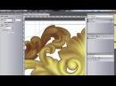 ЧПУ видео урок создание управляющей программы для сложных рельефов в ArtCam и создание перемычек