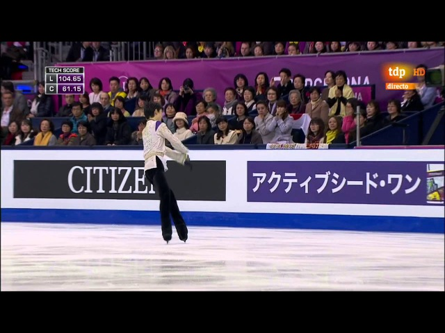 Yuzuru Hanyu. 2015 Grand Prix Final. FS