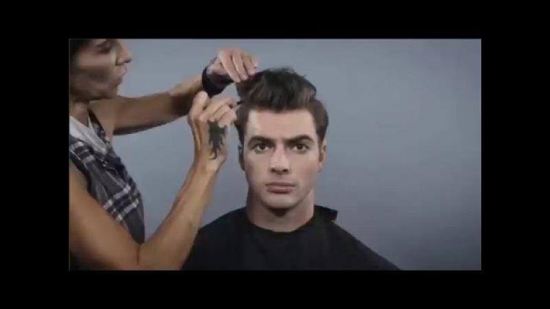 100 лет истории мужских причёсок за полторы минуты!
