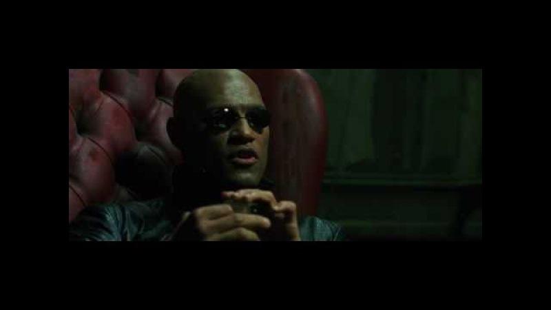 Матрица (Matrix) 1999 отрывок: диалог Морфеуса и Нео HD