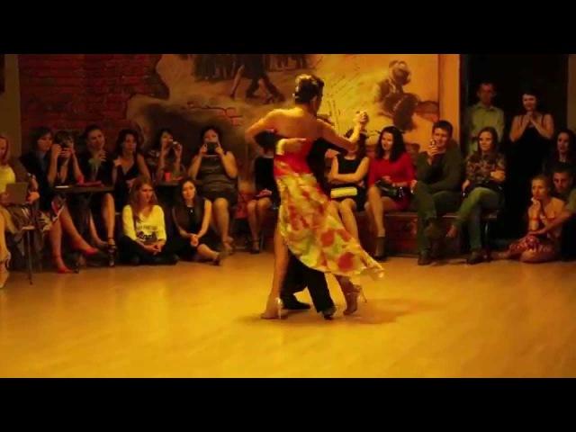 Sebastián Achával and Roxana Suárez - Fueron tres años @ Tango Nuestro 2014 Vladivostok