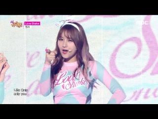 [HOT] MINX - Love Shake, 밍스 - 러브 쉐이크, Show Music core 20150711