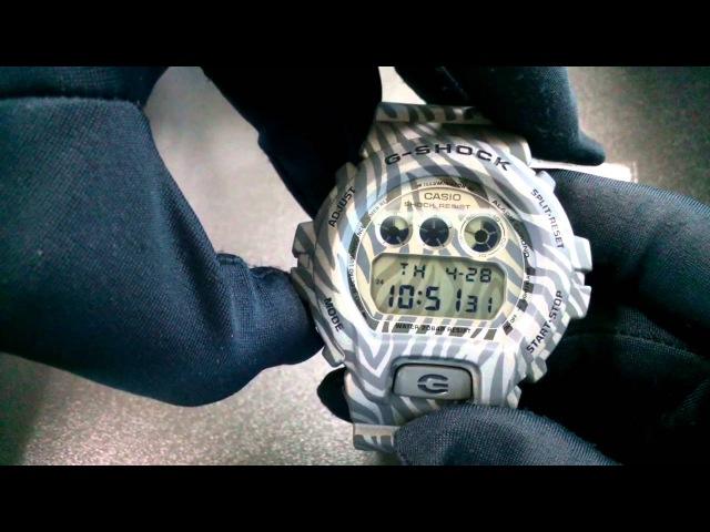Cs-time.ru CASIO G-SHOCK DW-6900ZB-8E. Мужские спортивные часы Джи Шок.