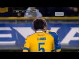 Espectacular caño de Palermo a Cagna en la despedida de Seba Battaglia