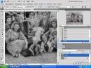 Photoshop CS4 CS5 31 Ретушь чб фотографии