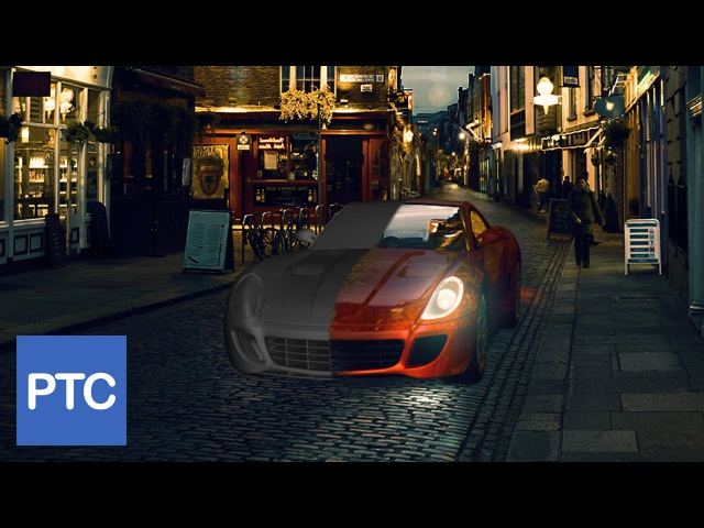Compositing 3D Models Into Photographs Using Photoshop
