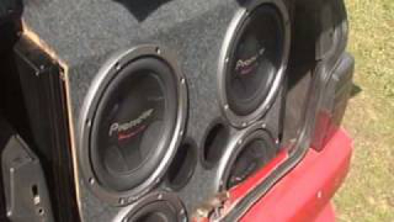 Bass i love you 4 subwoofers pioneer no uno turbo