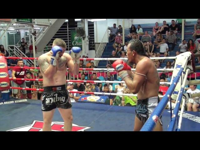 Jake Heun (Tiger Muay Thai) vs Kiatchai M.U.Den @ Bangla Boxing Stadium 8616