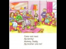 English for children. Spotlight 2. page 25 ex 3 - Come and meet my family Song
