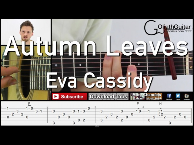 Autumn Leaves | Eva Cassidy - Guitar Lesson Tabs