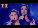 Александр Порядынский и Лолита - Ангел-Хранитель - Финал - Х-фактор 4 - 28.12.2013