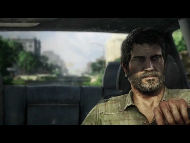The Last of Us | Joel and Ellie Truck Ambush - Cinematic trailer (2012) Sony PS3