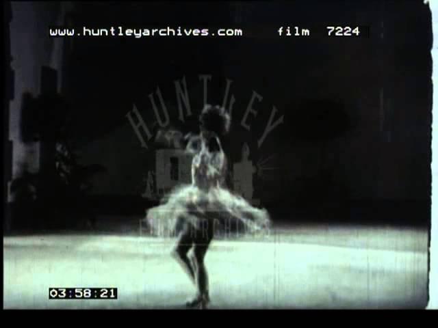 Anna Pavlova performs ballet solos, 1920's - Film 7224