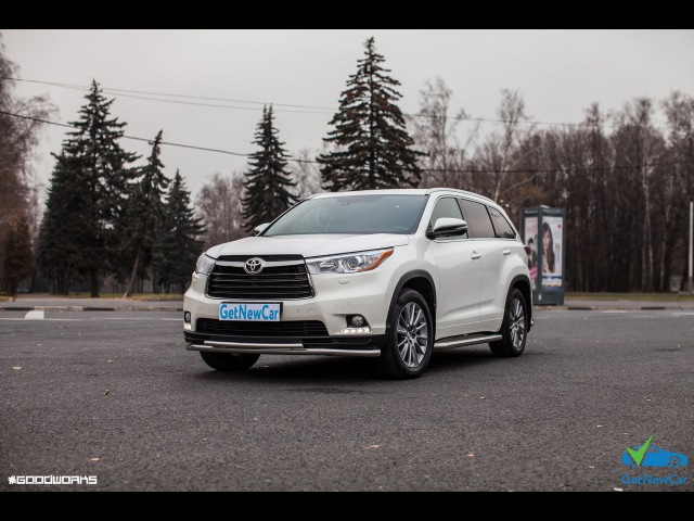 Toyota Highlander AT 3.5 (249Hp) 2014 г.