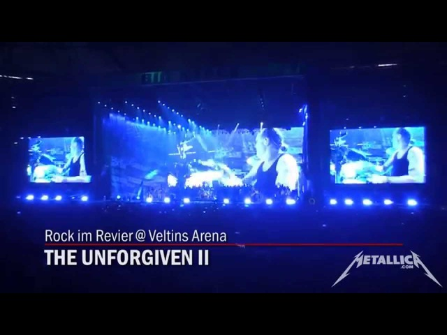 Metallica - The Unforgiven II LIVE 2015 (Second time played Live!) High Quality