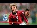 Beckham England goals