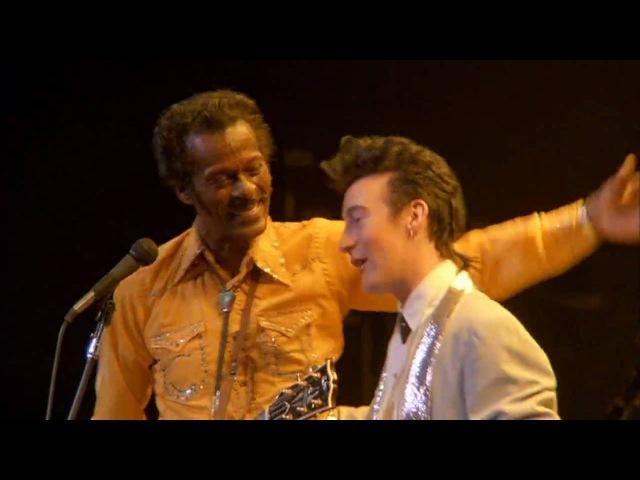 Chuck Berry Julian Lennon - Johnny B Goode (1986)
