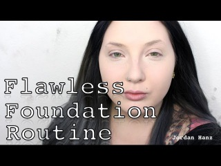 Flawless Foundation Routine For Light Skin