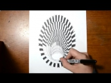 Drawing a Hole - Anamorphic Illusion - YouTube