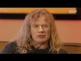 Русские клипы глазами MEGADETH (Дэйв Мастейн)