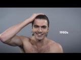 100 лет красоты в 1 минуту- Американские Мужчины