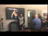 Конор Макгрегор играет в Ea Sports Ufc с Даной Уайт - виртуальный чемпион Maxim Stoyalov (2014-2017)
