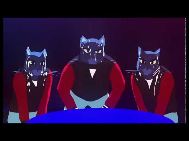 [Коты в баре] Caravan Palace Lone Digger Clip officiel