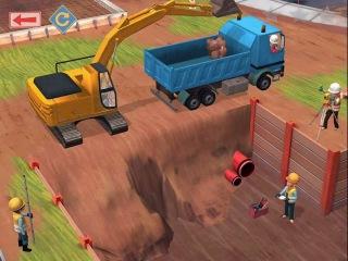Мультики про машинки. Строительная площадка и строители Детское приложение для iPOD И Android
