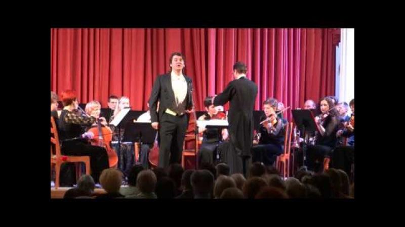 Звезда мировой оперной сцены Павел Баранский выступил в Смоленске 11 декабря 2015г.
