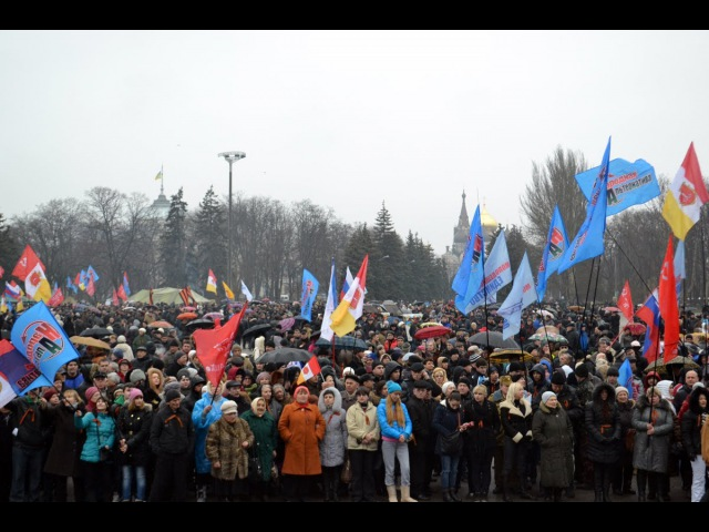 В Одессе прошел пророссийский митинг Новороссия, Федерализация