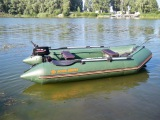 Обкатка Parsun T2 6C BMS на лодке Kolibri KM 330