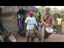 Traditional drumming and dancing in a malinke village